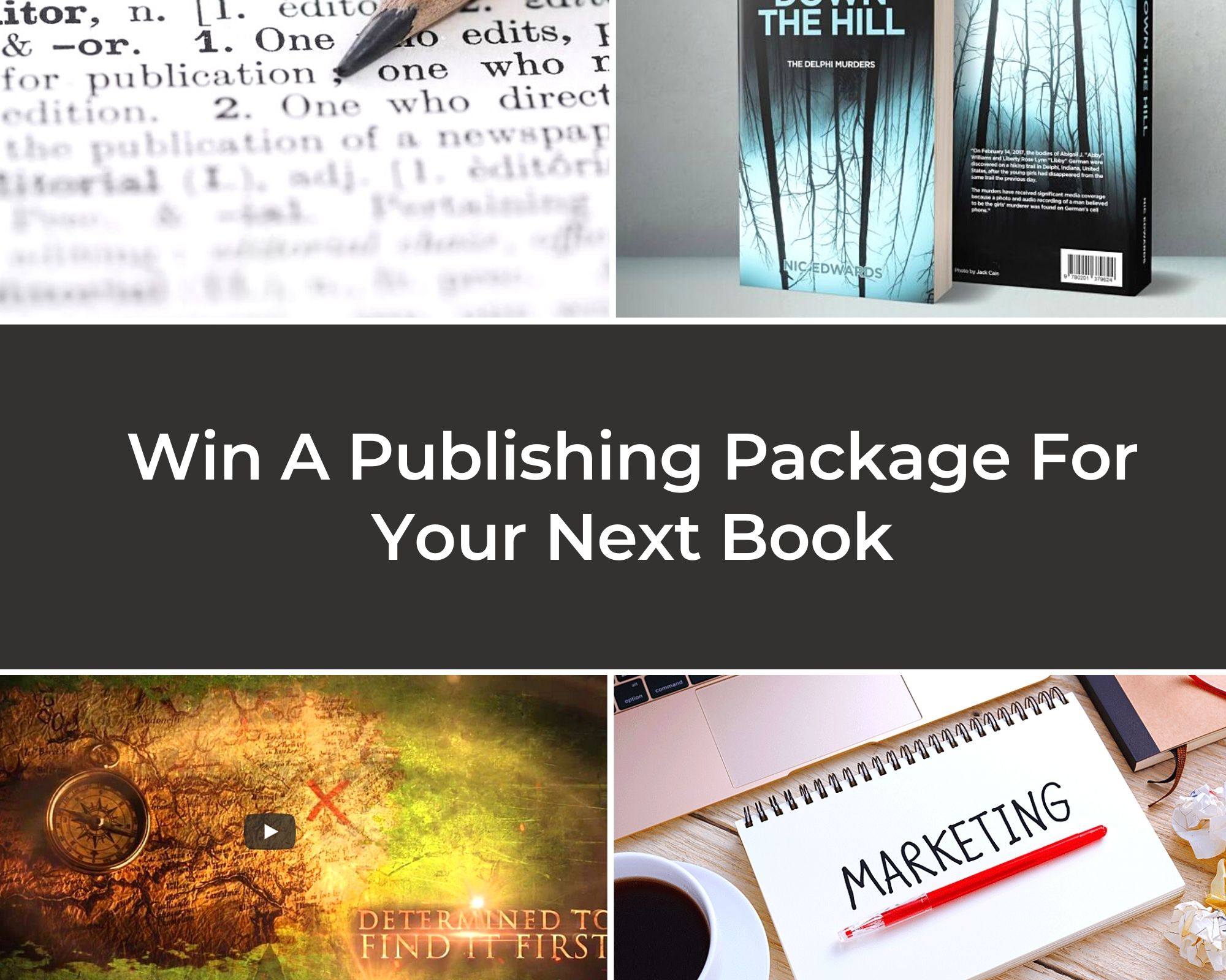 Win A Publishing Package For Your Next Book