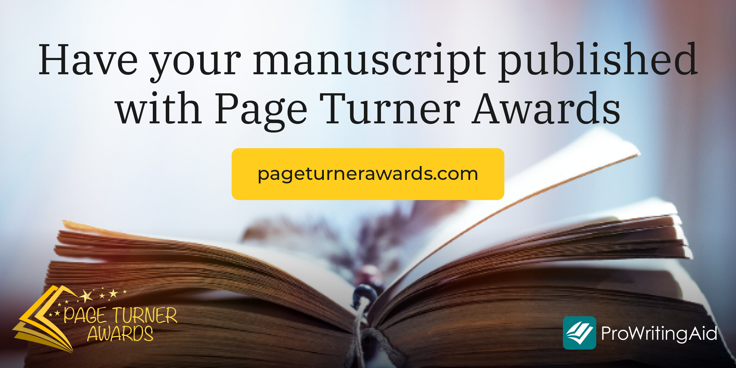 get published with page turner awards