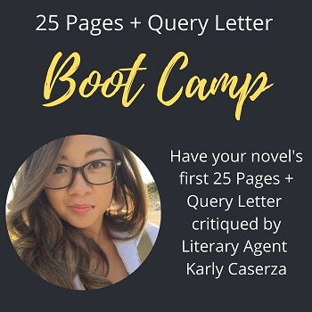 Karly Caserza literary agent 25 page critique