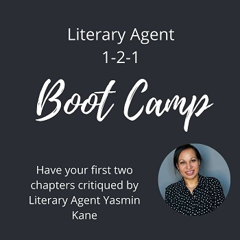 Yasmin Kane literary agent 121 chapters critique