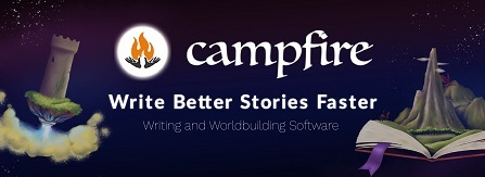 Campfire writing software
