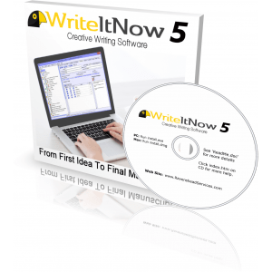 Win WriteItNow Novel Writing Software