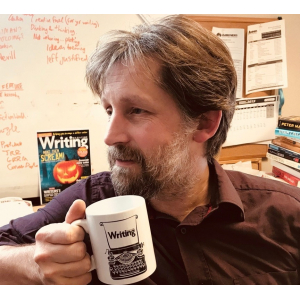 Jonathan Telfer editor of Writing Magazine is judging the Page Turner Awards writing contest